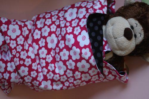 Knit-Blanket-Swaddled-Moneky