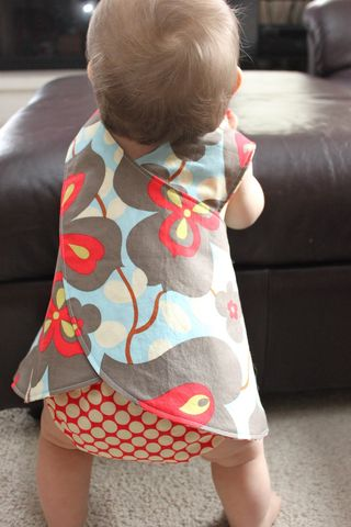 Baby dress pinafore