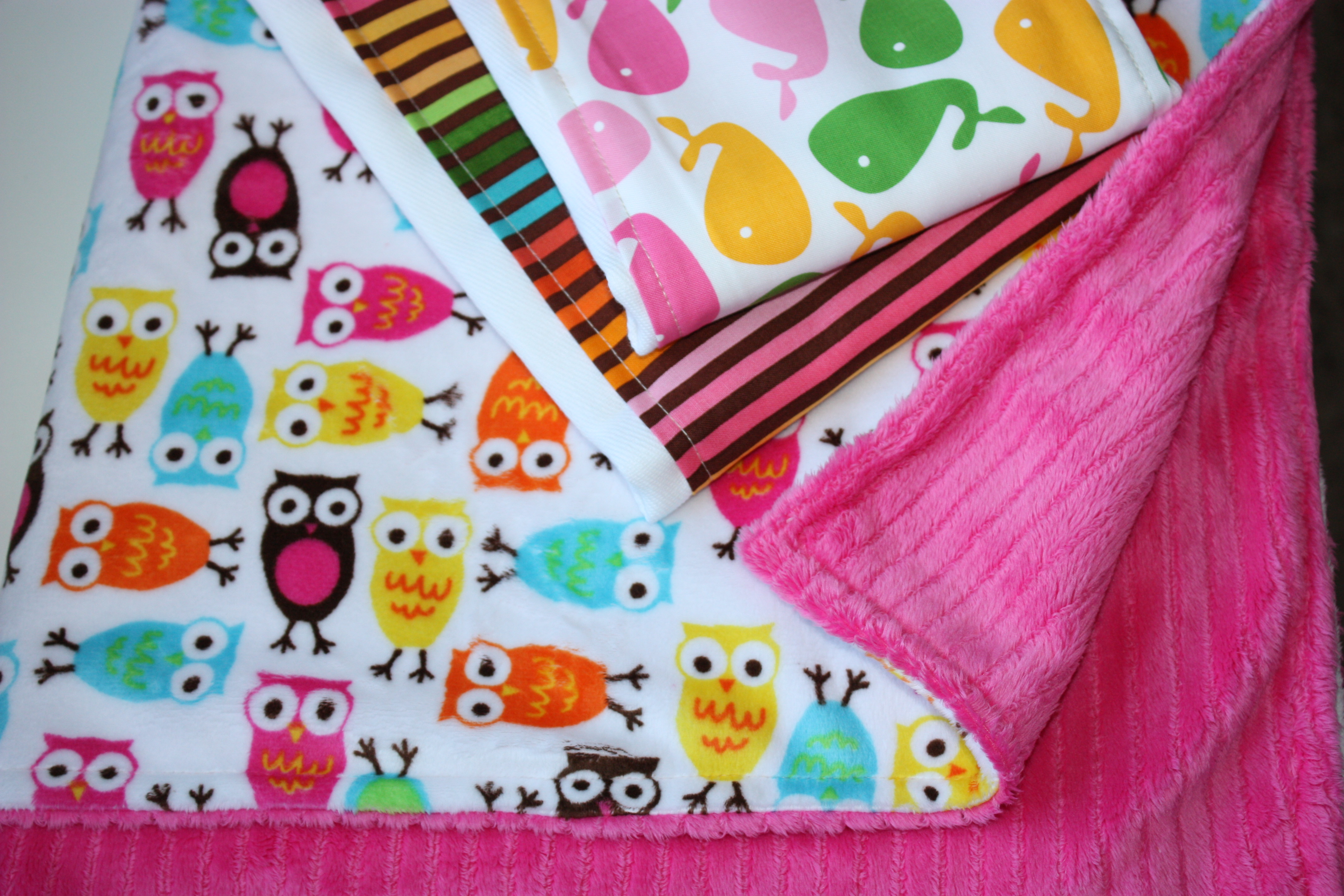 Everyday Beautiful Easy Minky Cuddle Blanket Baby Shower Gift